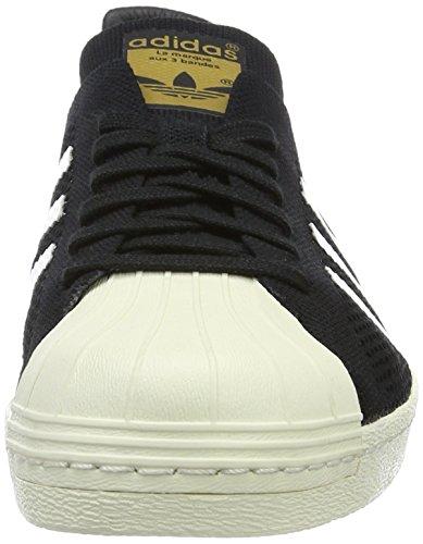 adidas Superstar 80s Primek, Scarpe Sportive Uomo Nero (black/white Mesh)