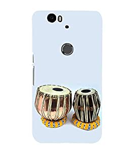 PrintVisa Musical Instrument 3D Hard Polycarbonate Designer Back Case Cover for Huawei Nexus 6P :: Huawei Google Nexus 6P