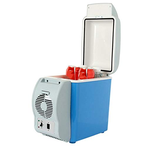 Ksruee Tragbare Ektrische Kompressor Kühlbox mit Erwärmen, 7.5 Liter Fassungsvermögen, 12V für Auto, LKW