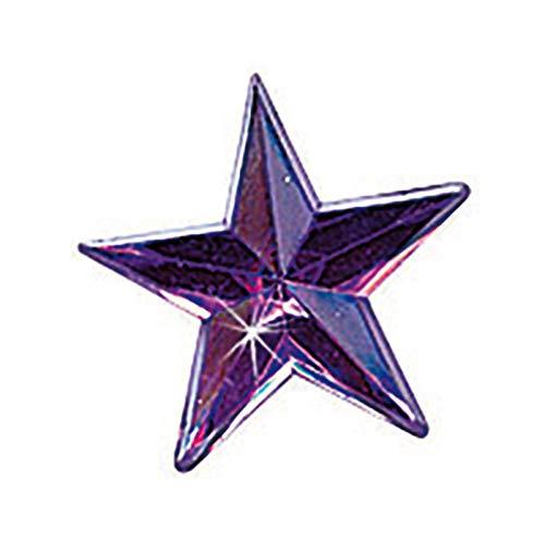 Kreul 49609 - Schmucksteine Sterne, für die Gestaltung von modischen Accessoires und zur Gestaltung im Home Deco Bereich, 150 klare Steine