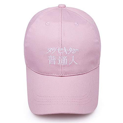 a8c35e77780 ILYO Men s and Women s Korean Version of The Outdoor Sunshade Wild Baseball  Cap Letter Cotton Duck