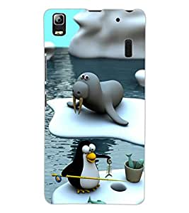 ColourCraft Cartoon Design Back Case Cover for LENOVO K3 NOTE