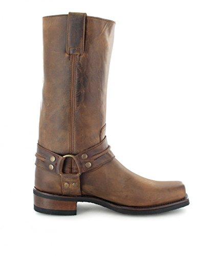 Sendra boots bottes 2380 bikerstiefel en différentes cOULEURS tendances & les variantes) Marron - Loren Tang