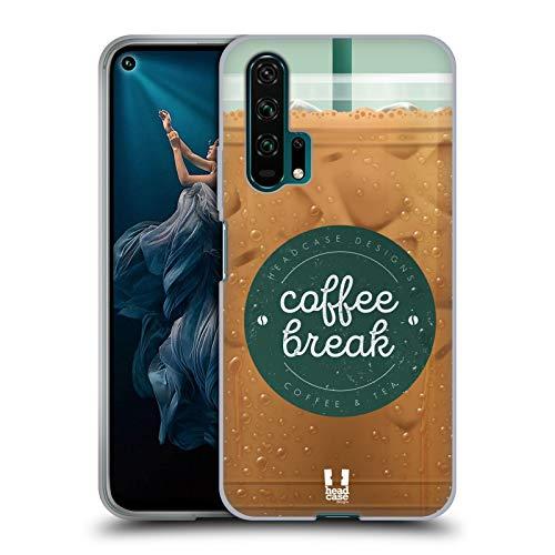 Head Case Designs Vereist Kaffeetassen Soft Gel Huelle kompatibel mit Huawei Honor 20 Pro