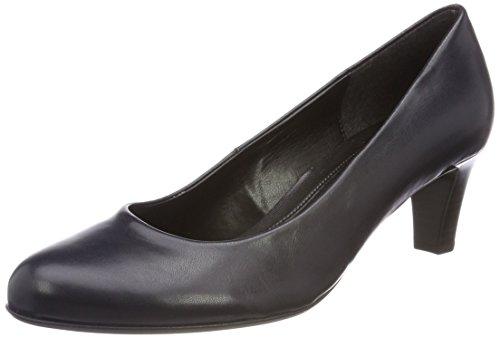 Gabor Shoes Damen Basic Pumps, Blau (Ocean), 40.5 - Pumps Leder