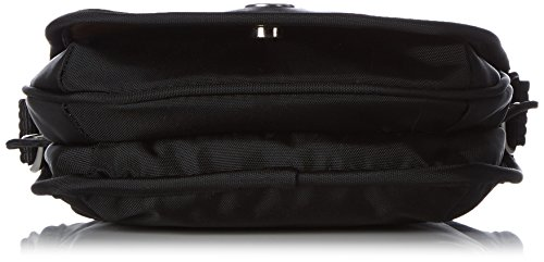 Bogner Leather - Lilly, Borsa a tracolla Donna Nero (Schwarz (black/teak 090))