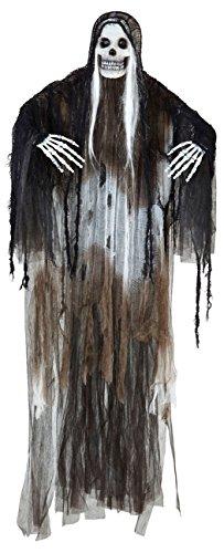 Halloween Kostüme Light Up Herren (Widmann 01375 Animierter Sensenmann, 100)