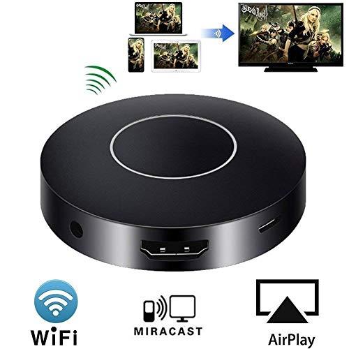 KANGLE WiFi Display Dongle, Wireless Display Receiver Unterstützung 1080P Full HD & AV Dual Ausgang RK3036 Dual-Core Wireless Display-Empfänger Für Ios/Android-Telefone/Windows / MacBook