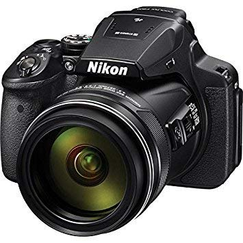 Nikon COOLPIX P900 16 MP Digital Camera with 83X Optical Zoom (Black)