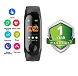 Zaptin M3 Band|Heart Rate Band|Health Watch|Calories Tracker Band|Step Count Band|Fitness Tracker|Bluetooth Smart Band|Wrist