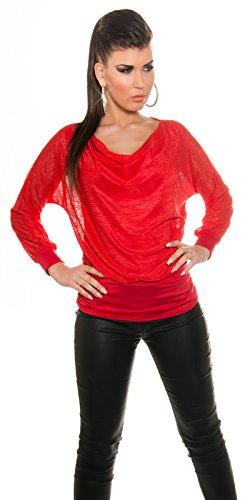 KouCla - Débardeur - Femme Rouge - Rouge