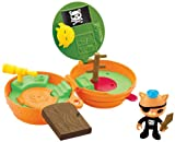 Octonauts On-the-Go Kwazi's Room - Juguete desplegable con forma de barco pirata