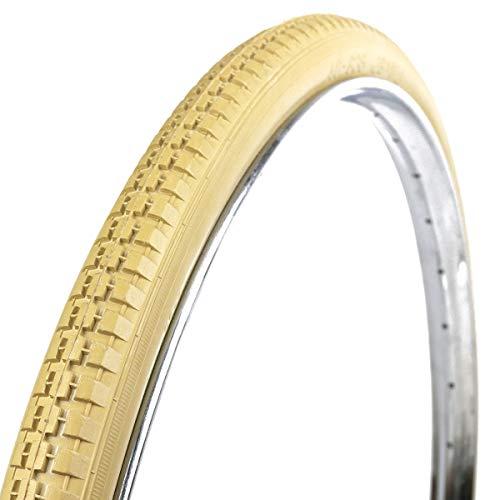 OldNewBikes Set di Pneumatici di Colore Beige (2 Pezzi) Marca RALSON per Bicicletta Classica, Misure 28x1,1/2' (40-635), 700B