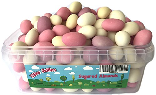 Ellies Jellies® Sugared Almonds 830g Rectangle Tub