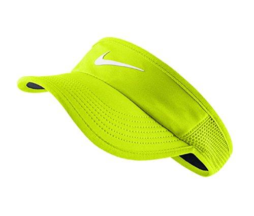 Nike W Nk Arobill Fthrlt Visor Casquette pour femme Amarillo (Volt / Black / White)