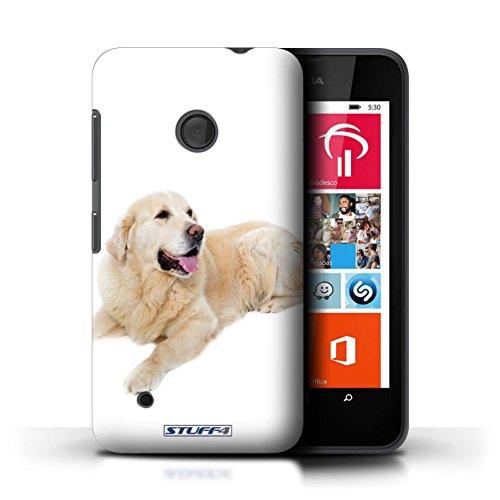 Kobalt® Imprimé Etui / Coque pour Nokia Lumia 530 / Bull Terrier conception / Série Chiens Labrador