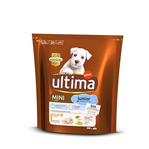 Ultima Mangime per Cani Mini Junior con Pollo 8 Unità 6400 g