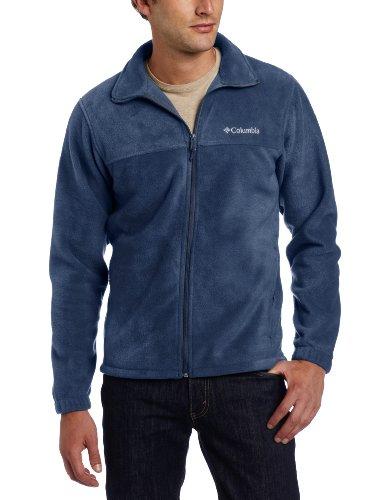 Columbia Men's Tall Steens Mountain Full Zip 2.0 Fleece Jacket, Collegiate Navy, 2X/Tall Tall Mens Fleece