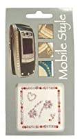 Kit Mobile Pro-Tec Bling Sticker Accessories for Smartphones - Flower