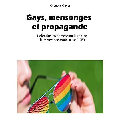 Gays, mensonges  et propagandee: Défendre les homosexuels contre la mouvance LGBT
