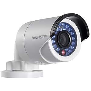HIKVISION DS-2CD2032F-I Camera d'exterieur HD DWDR IR Bullet reseau IP 4 mm 3 Mpx Emplacement pour carte SD