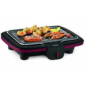 Tefal CB902O12 Grill Electric 2300W Black barbecue - barbecues & grills (2300 W, Grill, Electric, Grate + Griddle, Black, Rectangular)