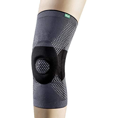 Kniebandage mit spezieller Dehnzone, JuzoFlex Genu Xtra-Anthrazit-L