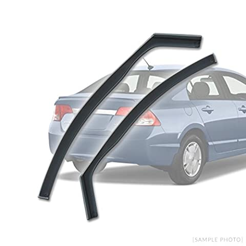 Honda Civic (2001-2005 4DR FRONTS) Wind Deflectors Rain Wind Window Deflectors