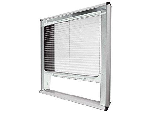 Ferpro zanzariera plisse bianca per finestra tenda anti zanzare 2451
