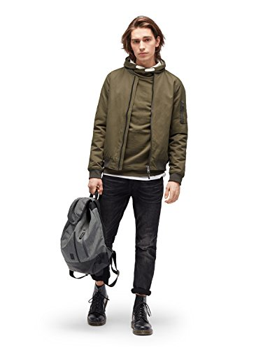 TOM TAILOR DENIM Sweat Hoodie mit Kapuze Woodland Green