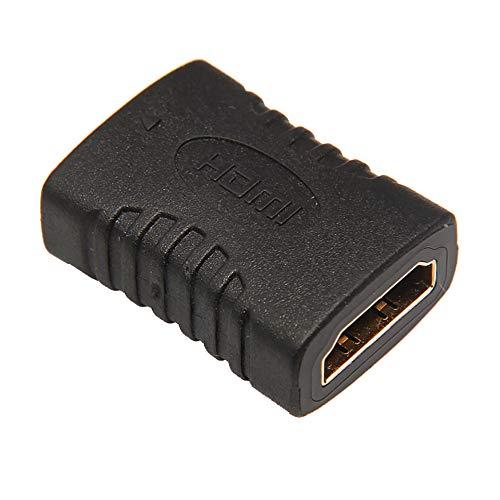 WOB HDMI Buchse auf Buchse Extender Adapter Koppler Anschluss F/F für HDTV 1080P 5 PCS Schwarz