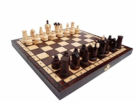 ROYAL MAXI, Solid Wood, Chess