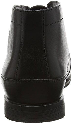 Rockport Styleconnected Chukka, Bottes mi-hauteur non doublées homme Noir - Noir