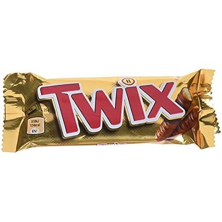 Twix Barrita de Galleta y Caramelo Cubierta de Chocolate con Leche 50 g