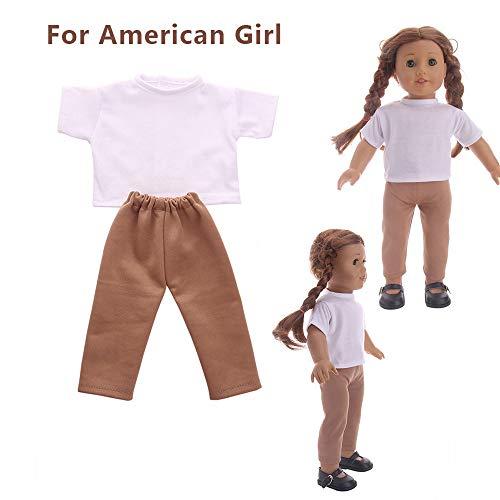 lustiges Spielzeug, ALIKEEY Zubehör Toy Daily Kostüme Puppe Kleidung Kleid für 18 Zoll American Girl ()