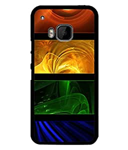 PrintVisa Designer Back Case Cover for HTC One M9 :: HTC One M9S :: HTC M9 (Modern Art Picture Painting Decorative Wallpaper)