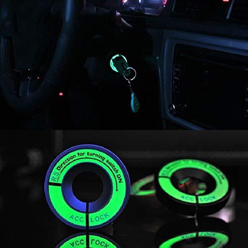 Decorazione-della-luce-1PCS-Portachiavi-Sticker-luminoso-Ignition-Switch-copertura-dellautomobile-che-designano-il-cerchio-per-il-motociclo-Car