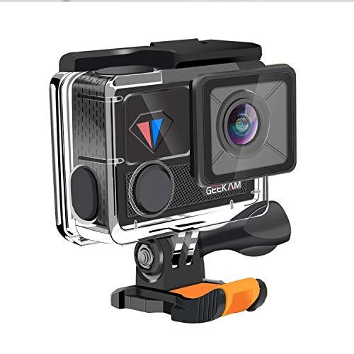 Xiao Tian wasserdichte Digital-Action-Kamera Touch mit Touchscreen 4K / 30fps HD-Video , Live-Streaming-Fernbedienung mit 20 MP-Fotos -