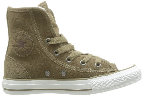 Converse Chuck Taylor All Star Super Winter, Baskets mode mixte enfant Beige (Taupe)