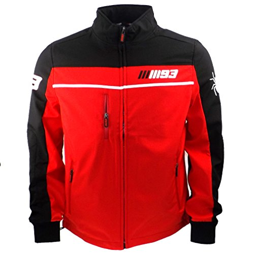 Marc Marquez 93 Moto GP Zip Soft Shell Jacket Red oficial 2015