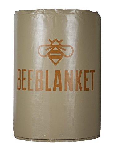 powerblanket bb200-uk isoliert Drum Heizung, Honig Barrel Heizung Bee Decke, feste Thermostat Set zu pflegen 43Grad C, 200l, anthrazit -