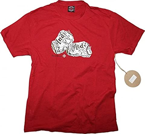 Independent Skateboard T-Shirt Things Go Better with ... Red,