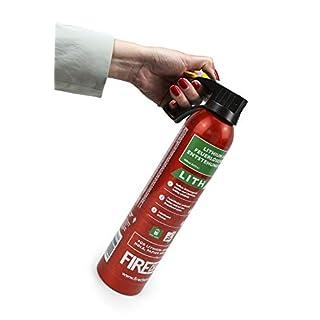 MedX5 AVD Feuerlöscher für A, E, und Li-IONEN-AKKU Brände, Lithium-Ionen-Akku 400 ml Feuerlöschspray