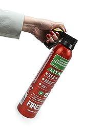 MedX5 (Upgrade 2019) 1x AVD Feuerlöscher für A, E und Lithium-Ionen-Akkus und Metallbrände, 500 ml Feuerlöschspray