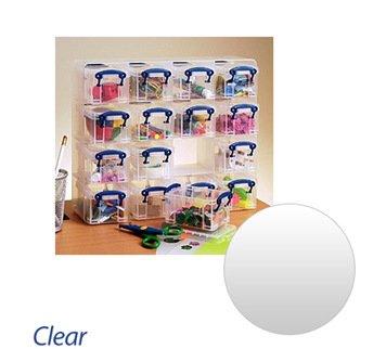 Really Useful Box Kunststoff Aufbewahrung Organizer 0,3Liter 16Stück–Farbe: Klar (16 Box Useful Really)