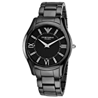 Reloj Emporio Armani AR1440 de cuarzo para hombre con correa de cerámica, color negro de EMPORIO ARMANI