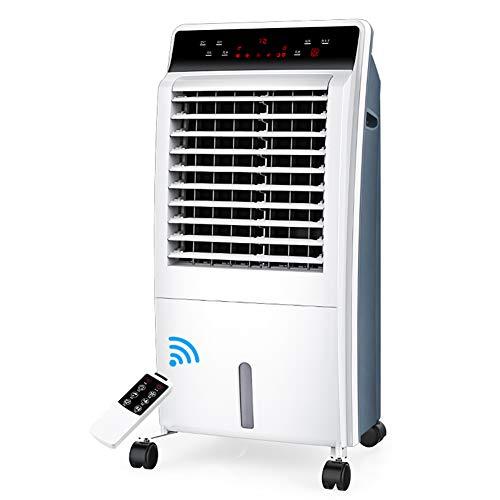 HAIPENG Mobile Tragbare Klimaanlage Klimagerät Luftkühler Lüfter 6-in-1 3 Geschwindigkeit Mit Schlafmodus Kühlung Heizung Zeitliche Koordinierung, 65W (Farbe : Weiß, größe : 800x360x280mm)