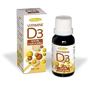 Nat et Form vitamine D3 100% naturelle