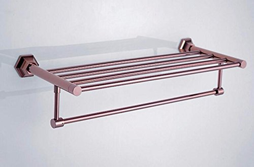 LHbox TapWand- auf EIN Flaches Stück Rose Gold Badetuch Handtuch Montage im Rack Rack-Mount, 48892-1