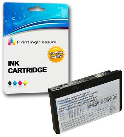 Preisvergleich Produktbild 1 Tintenpatrone kompatibel zu Epson T573 / C13T573040 für Epson Picturemate 100 - Color,  hohe Kapazität